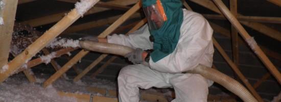 Isolation thermique des combles: soufflage
