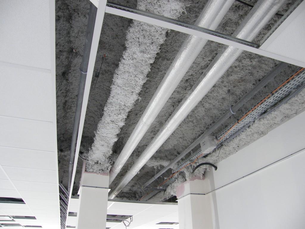 Plafonds suspendus faux plafonds compte isolation - Isolation faux plafond ...