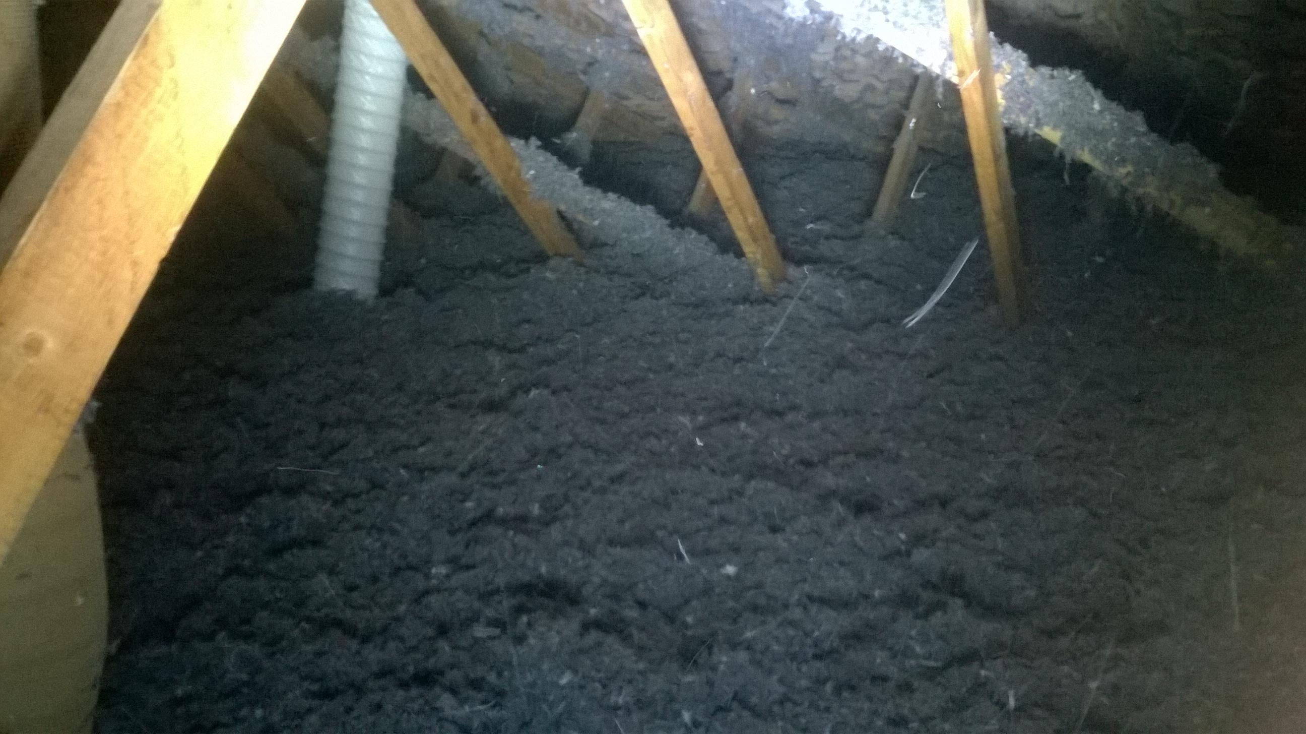 Isolation thermique des combles en laine de coton compte for Isolation thermique des combles